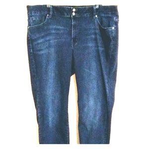Lane Bryant T3 stretch skinny jeans